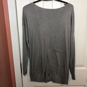 Vertical Design | Oversize Long Sleeve Sweater